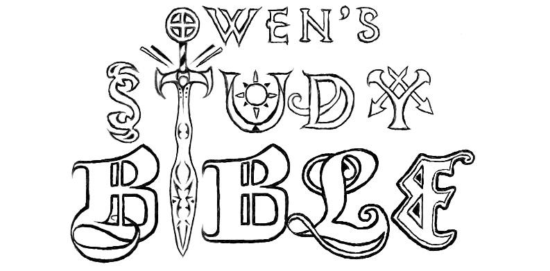 owen's study bible notes