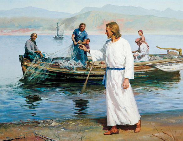 Matthew 4 Jesus and the Fishermen Brothers
